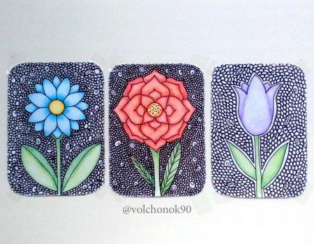 Цветы от volchonok90