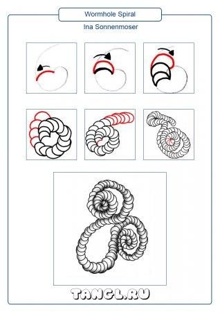 Wormhole Spiral