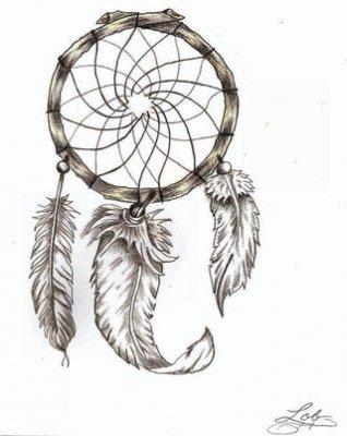 Ловцы снов стиле зенарт для вдохновения