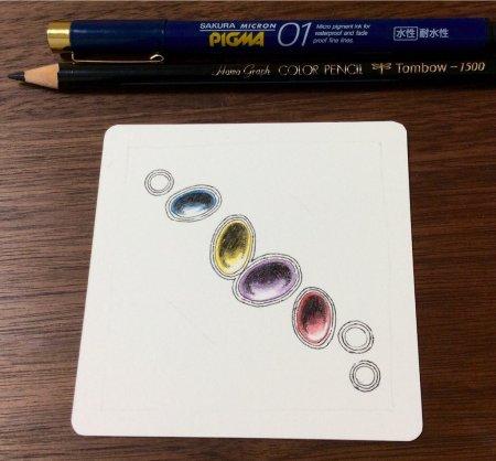 Как нарисовать драгоценные камни карандашами