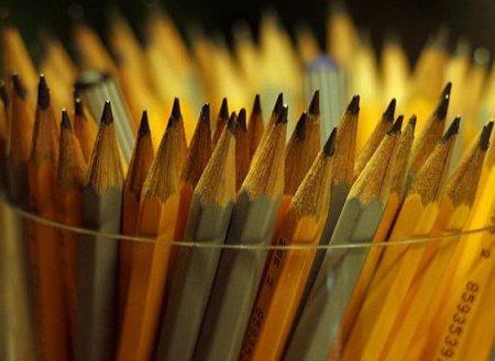 Виды простых карандашей