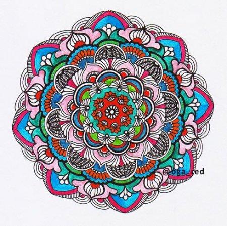 Как рисовать зендала для релаксации?