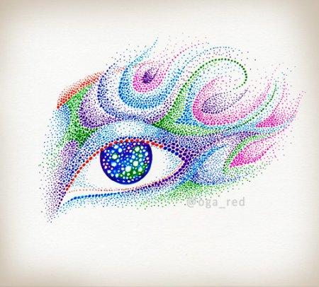 Дот-арт: Искусство рисования точками